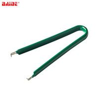 الأخضر ic رقاقة النازع u نوع ل rom استخراج إزالة بولير سحب آلة كليب إصلاح أداة dip تغليف استخراج 200 قطعة / الوحدة