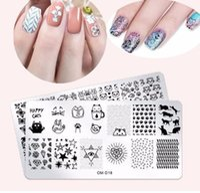 1 stücke Edelstahl Nail art Stamping Platten 25 Designs Frühling Tier Blumen Nagel Vorlage Diy Polnischen Nail art Dekoration