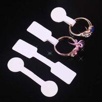 Freie Versandgroßverkauf 100pcs / lot Dombbell Preisschild-Anzeigen-Umbauten Aufkleber-Ring-Armband-Armband-Halsketten-Schmucksachen Selbstklebendes Preisschild