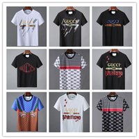 ca68850db212 2019 New Fashion Brand T-shirt Star Designer Spring Summer Color Sleeves  Vacation Short Sleeve Tees Casual Letters Printing Tops  953202