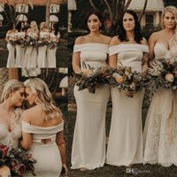 4f8d78a343f33 Wholesale plus size western wear dresses for sale - 2019 New Western  Country Garden Bridesmaids Dresses