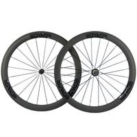 وزوج الدراجات الكربون عجلات 50MM البازلت الفرامل السطح عجلات الكربون الطريق دراجة العجلات مع R13 المحور