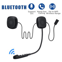 Audew 50M Impermeable Moto bluetooth Inalámbrico Anti-interferencia Casco Auricular Manos libres bluetooth V4.2 Intercom para la motocicleta