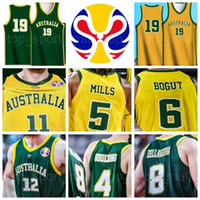 2019 كأس العالم فريق كرة السلة الفانيلة 34 Jock Landale 4 كريس Goulding 55 Mitch Creek 2 Nathan Sobey Patty Mills Aron Baynes A-D-L-Y