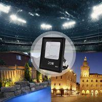 Lumières LED 20W 110V 투광 조명 모듈 홍수 조명 램프 IP65 방수 조경 조명 태양 램프 야외 조명