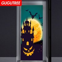 Decorate Home 3D Hallowmas wall door sticker decoration Deca...