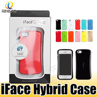 iFace centre petite taille Étui hybride couverture pour iPhone 11 Pro Max XR 8 Samsung S20 plus A50 avec izeso Retail Box