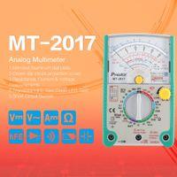Proskit MT-2017 AC / DC 아날로그 그래프 포인터 멀티 미터 전류계 저항 커패시턴스 다이오드 볼트 앰프 옴 hFE LED 미터