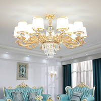 الثريا الحديثة الثريا كروم الصمام الثريات الإضاءة الكريستال غرفة المعيشة أدى الثريا السقف أضواء غرفة المعيشة