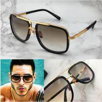 Última venta de moda populares One1 mujeres gafas de sol hombre gafas de sol gafas de sol de los hombres Gafas de sol de calidad superior gafas de sol UV400 de la lente con la caja