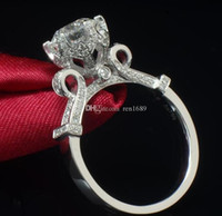 Feine US GIA Zertifikat Victoria Wieck Eternity Schmuck 2ct Topaz simulierten Diamant-925 Sterlingsilber-Frauen Ehering, Verlobungs Band.