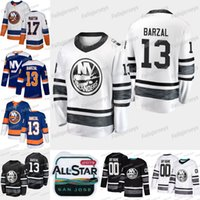 New York Islanders 2019 All Star Mathew Barzal Leo Komarov Josh Bailey Anders Lee Matt Martin Ryan Pulock Cal Clutterbuck Thomas Jersey
