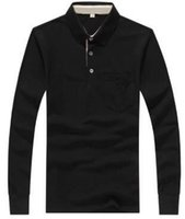 Leading Winter Men London Brit Casual Shirts Long Sleeve Sol...