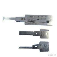 Wysokiej jakości narzędzie ślusiowe HU66 2 w 1 Oryginalne Lishi Locksmith Professional Car / Auto Naprawa narzędzi