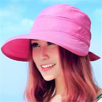 Summer ladies sun hat sunscreen travel sun hat female summer...
