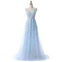 2019 New Vestido de Noiva Longa Rosa Renda Vestidos Noiva Banquete Slim Sesy V-Pescoço Backless Formal Prom Vestido Feito 510