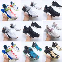 Running Shoes raza humana Pharrell Williams Paquete Solar Hu zapatillas de deporte