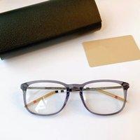 2020 NEW HOT للجنسين BE2283 الإطار البصري 55-20-145 أزياء موجزة خفيفة الوزن ساحة المعدنية + بلانك نظارات لPrescriiption حالة Fullset