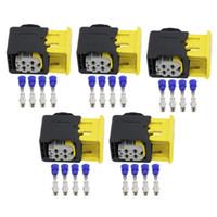5 Imposta 4 Pin N-Sensore di ossigeno controller cablaggio del connettore Automotive spina con terminali 2-1418390-1