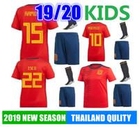 8d434f2fd ... PIQUE BUSQUETS THIAGO DE GER CASILLAS Kids Football Shirt Kits With Short  Pant. US $17.35 / Piece. New Arrival
