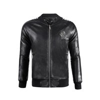New arrive motorcycle leather jackets men men' s leather...