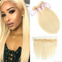 613 Blonde Bundles Brazilian Virgin Hair 613 Blonde Straight...