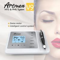 2019 Artmex V9 الدائم Microblading MTS / PMU الدائم الرقمية ماكياج الوشم الصغير آلة blading الشفاه قلم الحواجب كحل