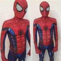 MCU Concept Art Spiderman tuta in lycra con cerniera tuta Spiderman Hero Costume di carnevale di Halloween
