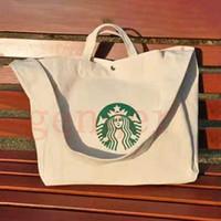 2020 مصمم-ستاربكس رسول الكتف أكياس التسوق مومياء حقيبة قماش الترفيه حقيبة كتف كبيرة رسول Bagc42f #