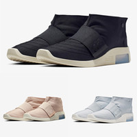 2019 Air Fear of God Raid LIGHT BONE Boots Fashion Moccasin ...