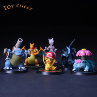 TOY CHEST Brand 2019 Hot Rare Limit 6pcs Set Mini Cartoon An...