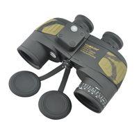 Visionking 7x50 BAK4 Binóculos Flutuantes À Prova D 'Água Com Build-In Bússola Prismaticos Range Finder Telescópios de Caça À Prova D' Água