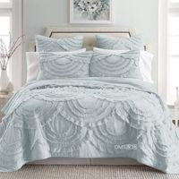 Handgemachte Palace Luxury Pink Bedspreads Set Kingsize Weiß Bedcover Pillowcase 3pcs Set Grau Cotton Quilting Quilts Coverletcover Bettbezug