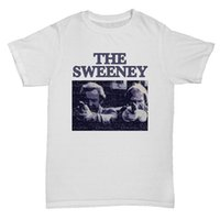 THE SWEENEY TV ISPIRA THEMED RETRO CULT MENS COMEDY FILM MOVIE Maglietta jersey Stampa t-shirt Camicie di marca jeans Stampa