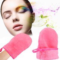 Démaquillant microfibre gant microfibre réutilisable pour le visage serviette pour le visage démaquillant démaquillant pour le visage gant nettoyant