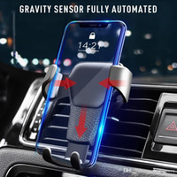 جديدة العملي السيارات الجاذبية حامل الهاتف رد فعل الجاذبية سيارة حامل الهاتف المحمول كليب نوع تنفيس الهواء Monut مع حزمة البيع بالتجزئة