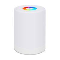 LED Touch Control luce di notte di induzione Dimmer lampada intelligente Lampada da comodino dimmerabili RGB Color Change ricaricabile intelligente