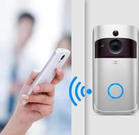 iOS 안드로이드 전화 앱 제어를위한 PIR 모션 탐지가있는 새로운 WiFi 비디오 Doorbell 720P HD 무선 보안 카메라