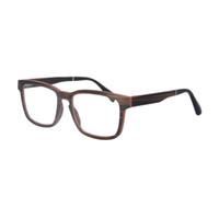 Venda por atacado- natureza madeira quadro de prescrição óculos miopia óculos óculos quadro de alta qualidade sh73008