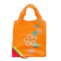 Симпатичные клубника сумки Эко многоразовые сумка складной хранения продуктовые сумки Сумка многоразовые эко-дома мешки для хранения 250 шт