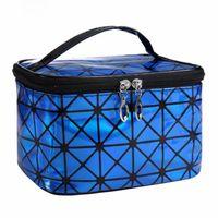 디자이너 미용사 Necessaire 대형 화장품 가방 케이스는 최고의 여성을위한 뷰티 화장 메이크업 박스 가방 여행 세면 용품 세척 파우치를 판매