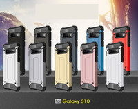 삼성 S10 세대 S10E A6S A8S M10 M20 A10 A20 A30 A40 A50 A70 M30 A20E A60 하이브리드 케이스 하드 PC + TPU 충격 충격 방지 내구성 갑옷 커버를 들어