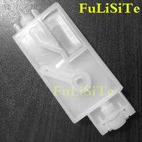 10PCS amortisseur d'encre dx5 avec connecteur pour Mimaki JV33 JV5 CJV30 Roland Mutoh Galaxy impression DX5 wit-couleur Tête humaine tombereau filtre