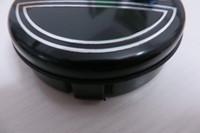 4 قطع 64 ملليمتر فولفو عجلة مركز قبعات المحور غطاء سيارة شعار شارة أسود / رمادي / أزرق C30 C70 S40 V50 S60 V60 V70 S80 XC90