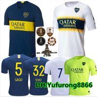Tailandia 2018 2019 Camisetas de fútbol de Boca Juniors 18 19 Camisetas de  camiseta de fútbol bc7ae801f4db6