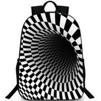 Рюкзак для шахматной доски Vortex дневной пакет с черной дырой Школьная сумка с шахматной доской Пейсли рюкзак Фото рюкзак Спортивная школьная сумка Открытый рюкзак