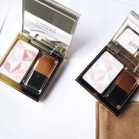 Новые Bronzers Highlighters красоты Highlighter Rehausseur Luminizing Face Enhancer Пудра 2 цвета Бесплатная доставка