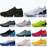 Nike Air Vapormax 2.0 جديد وصول الرياضة العلامة التجارية أحذية TN 2.0 عتبة باب الثلاثي الشباب الأسود رمز الأبيض فولت رمادي فاخر مصمم أحذية رياضية الرجال النساء 36-45