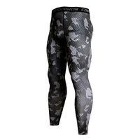 Компрессионные брюки бегунные колготки мужчин тренировка фитнес спортивные леггинсы тренажерный зал пробежки брюки мужская спортивная одежда Crossfit Йога днища