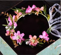 Цвет цветочный венок Путешествия ФОТО аксессуары детские головные уборы свадебные украшения